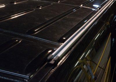 Roof Rails - EcoLine 8 – 2016 Mercedes-Benz 3500 Cargo Van 170 Extended