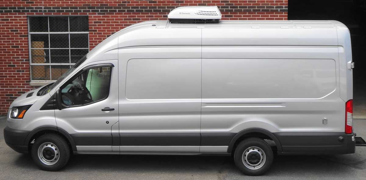 Engine-off climate solutions for Sprinter ProMaster Transit