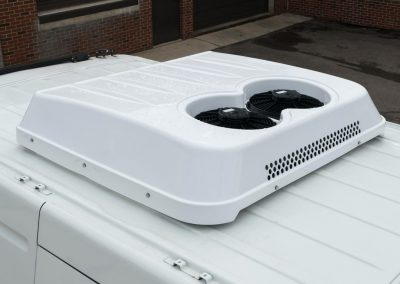 2016 Nissan NV 2500 roof mounted HVAC unit