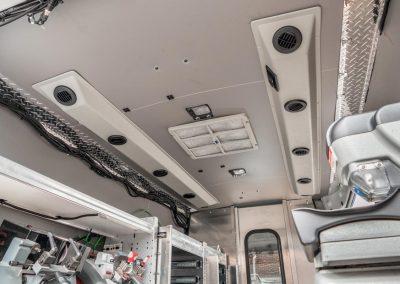 Interior view of 2016 Nissan NV 2500
