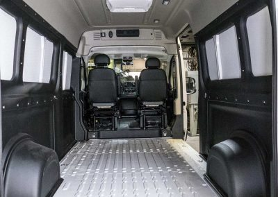Interior - 2017 RAM 2500 ProMaster Cargo, 159-inch wheelbase, high roof - Webasto heat and A/C system, Dometic 110 System, Dometic vents