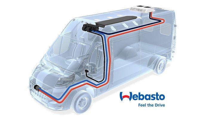Dodge RAM Promaster Extreme Climate Rear HVAC – Webasto model Capri