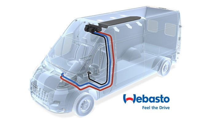 Dodge RAM Promaster Standard Tie-In HVAC – Webasto model London