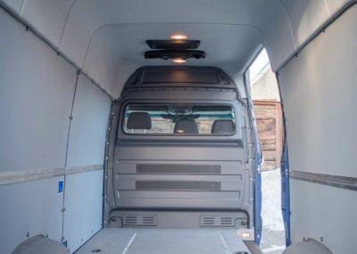 2016 Mercedes-Benz Sprinter 2500 Cargo Van 144WB with RedDot R-9777 Rooftop Air Conditioner