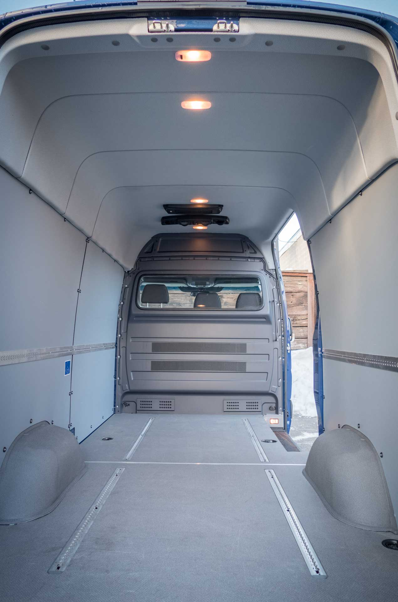 Budget friendly RedDOT rear cargo HVAC for Sprinter Transit