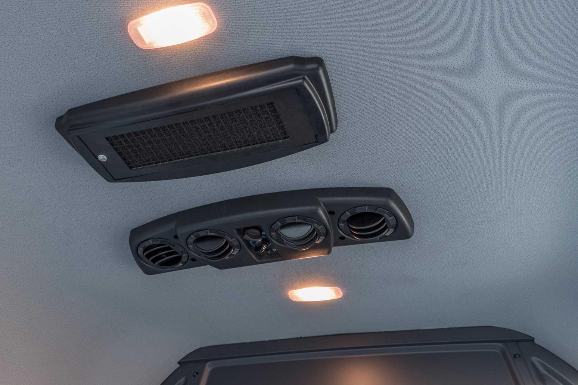 Budget friendly RedDOT rear cargo HVAC for Sprinter Transit ProMaster