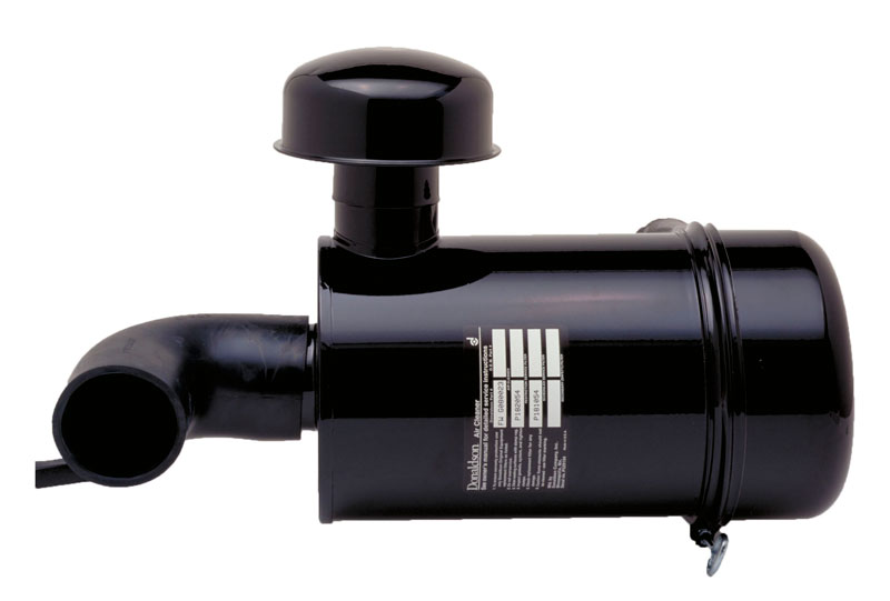 Filtrated air intake