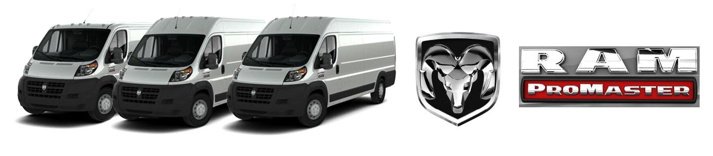 RAM ProMaster Cargo Van rear HVAC systems