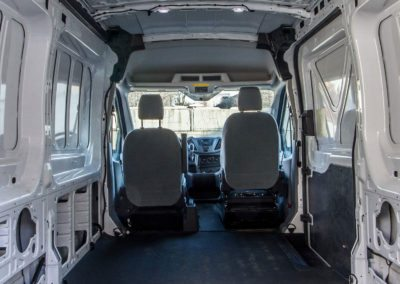 Ford Transit Rear Cargo HVAC - Webasto by Cicioni