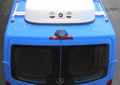 EcoLine 10 – 2014 Mercedes-Benz Sprinter 2500 Rear Cargo A/C Top View