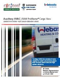 Promaster Rear HVAC - Brochure