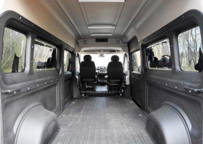 RAM ProMaster 2500 Passenger Van Rear HVAC - Webasto by Cicioni - interior