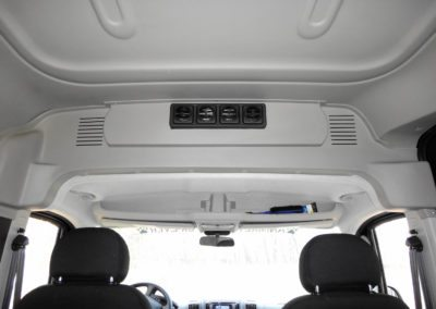 RAM ProMaster 2500 Passenger Van Rear HVAC - Webasto by Cicioni - air outlets