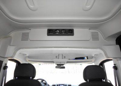 RAM ProMaster 2500 Passenger Van Rear HVAC - Webasto by Cicioni - air outlets