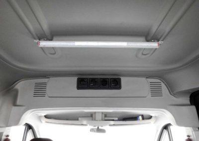 RAM ProMaster 2500 Passenger Van Rear HVAC - Webasto by Cicioni - custom LED lighting installation