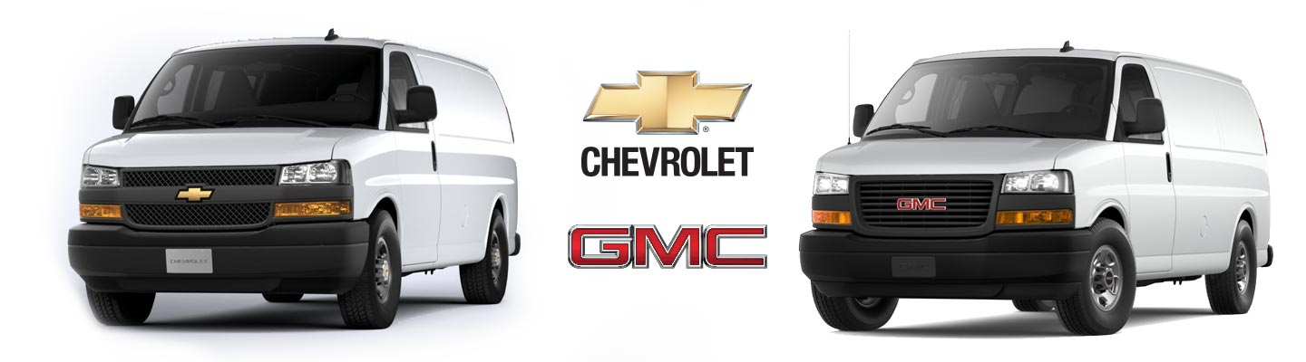GMC Savana and Chevy Express Rear Cargo HVAC heating and cooling solutions