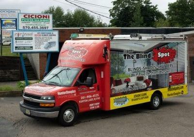Box Truck Rear Cargo Hvac Heating System Installation