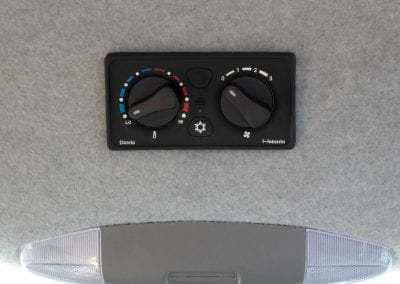 Controls for the unit.
