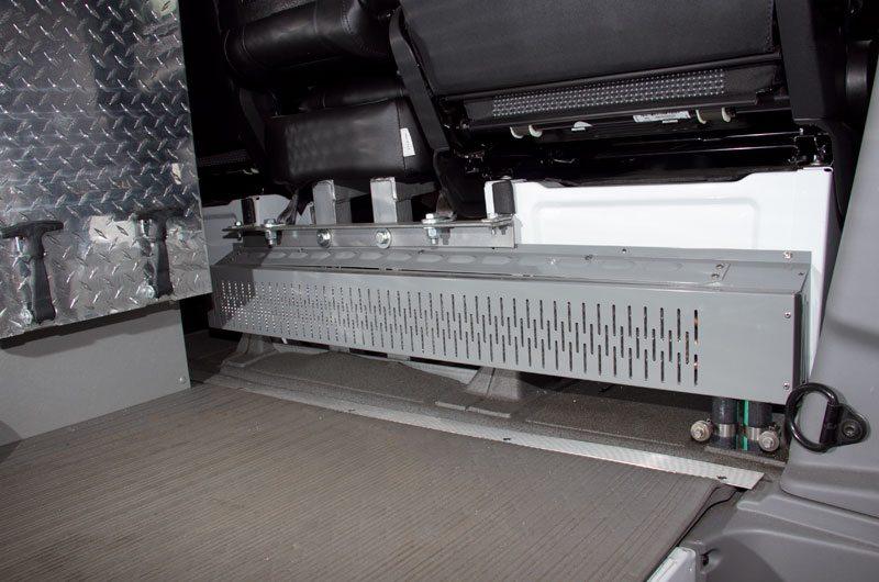 MCC custom convector installed.