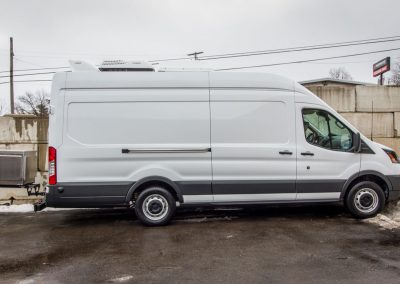 Exterior view - 2018 Ford Transit 350 high roof cargo van 148 in WB.