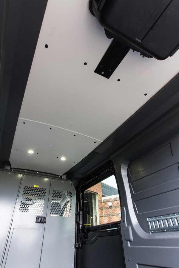 Ford Transit Wall Liner With Roof Liner (headliner) Protects Your Vehicleu0027s  Interior.
