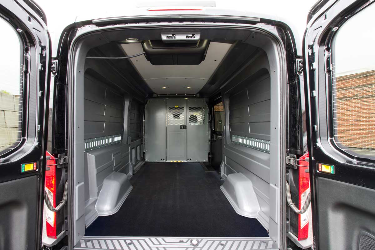 Ford Transit Rear Cargo Hvac Solutions By Cicioni 2015 Wagon Interior Wall Liner With Roof Headliner Protects Your Vehicles