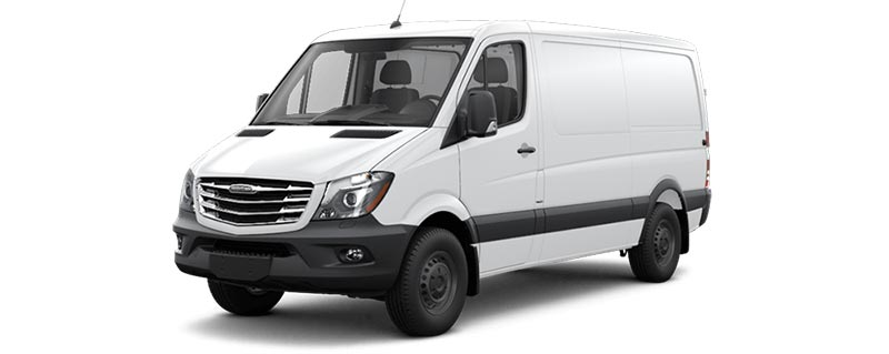 Freightliner Van Rear Cargo HVAC & Upfitting Cicioni Commercial Vehicle HVAC