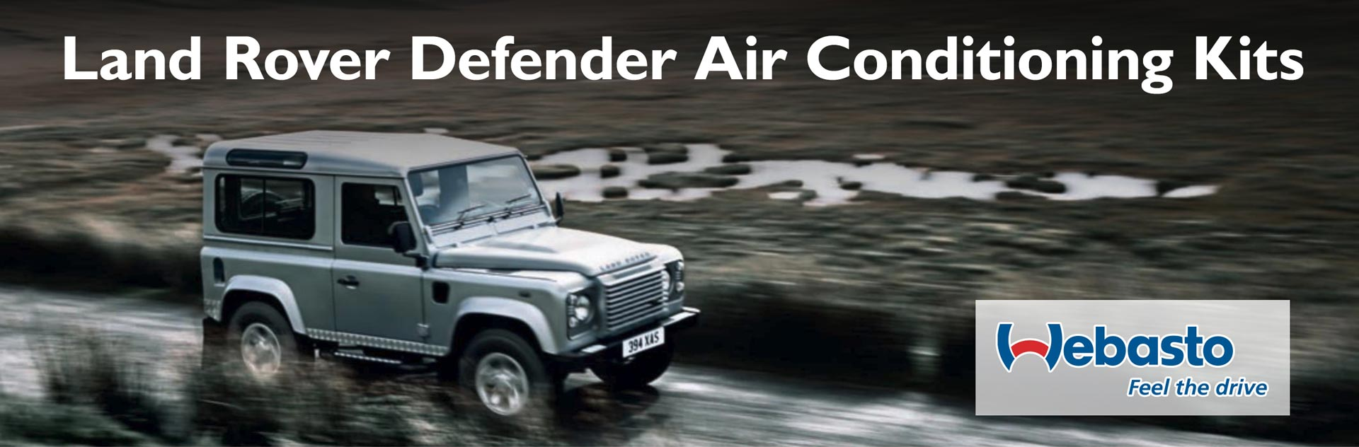 Land Rover Defender Air Conditioning AC System Kits by