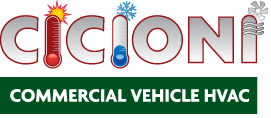 Cicioni Commercial Vehicle HVAC - ProMaster Transit Sprinter rear cargo HVAC