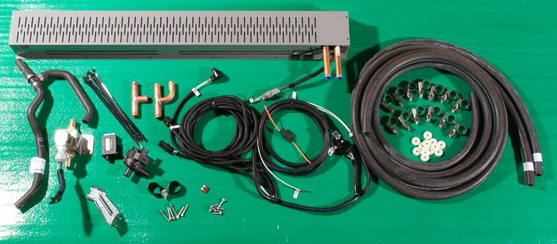 The MCC custom convector kit.