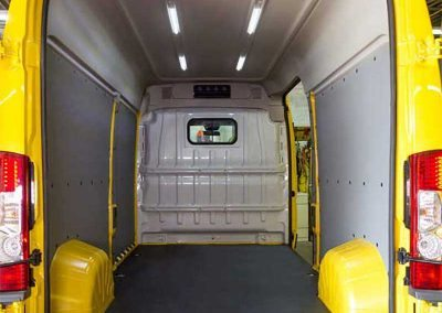 ProMaster partition installation in a RAM ProMaster - PennDOT