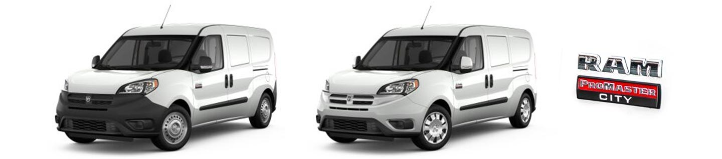 RAM ProMaster City rear cargo HVAC systems