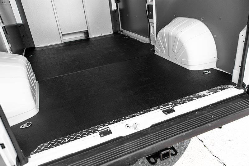 RAM ProMaster vehicle liner floor