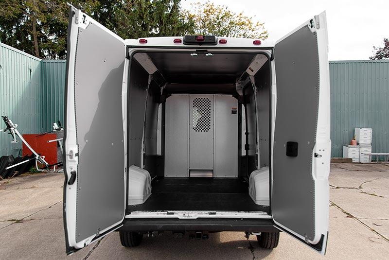 RAM ProMaster vehicle liner interior