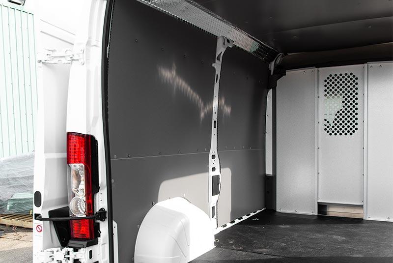 RAM ProMaster vehicle liner wall panels