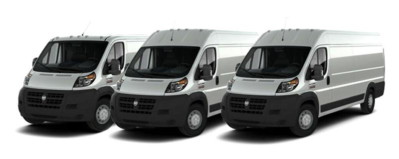 RAM ProMaster Rear Cargo HVAC & Upfitting Cicioni Commercial Vehicle HVAC