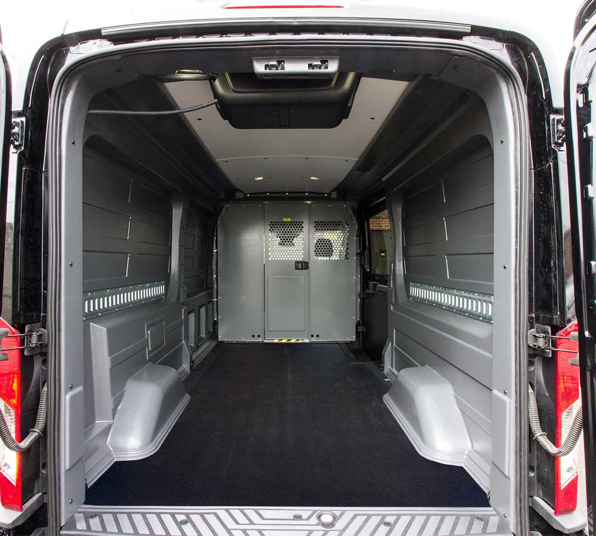 2015 Ford Transit 150 Wagon Interior: Ford Transit Rear Cargo HVAC Solutions By Cicioni