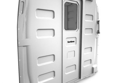 Sortimo partitions are available for Mercedes-Benz Sprinter models.