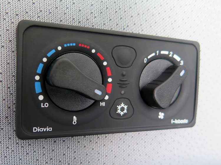 Sprinter HVAC controls