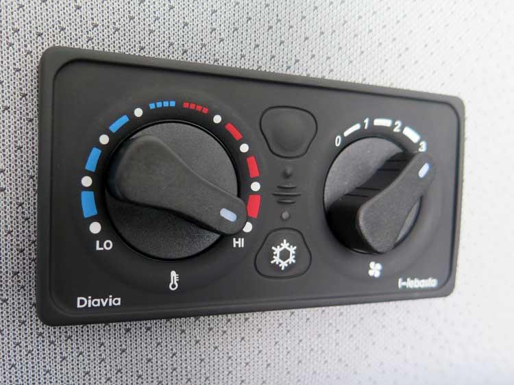 Sprinter HVAC controls