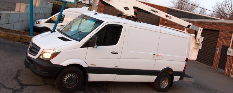 Work van HVAC heating cooling systems for Transit, ProMaster, Sprinter, Nissan NV